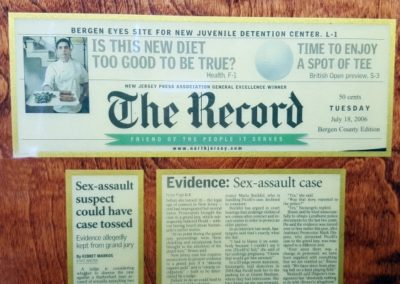 Bruno and Ferraro Sexual Assault Cases