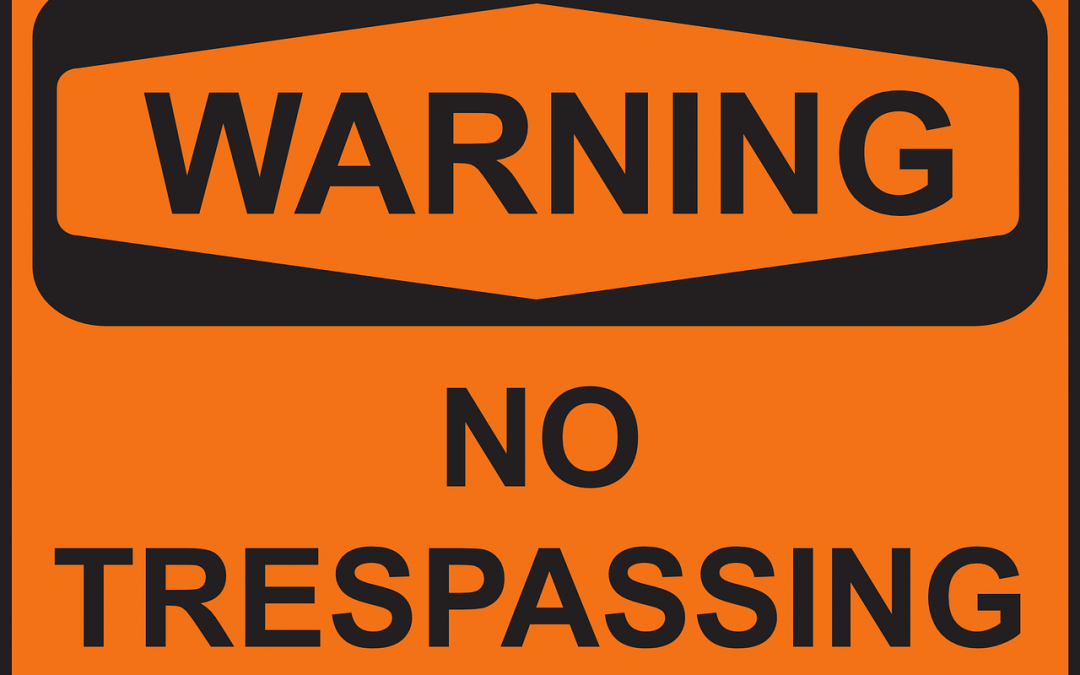 A New Jersey Resident's Guide to Criminal Trespassing